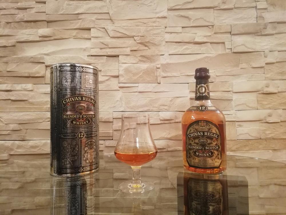 test blended whisky - chivas regal 12y