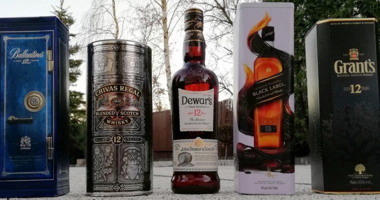 Test blended whisky 12Y