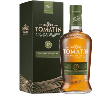Tomatin 12Y Bourbon & Sherry