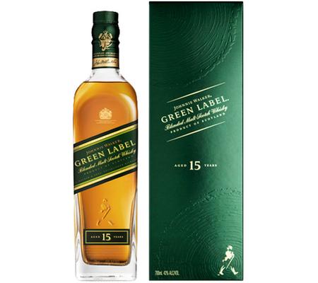 Johnnie Walker 15Y Green Label