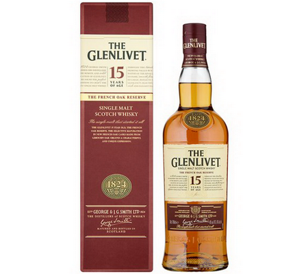 The Glenlivet 15Y French Oak