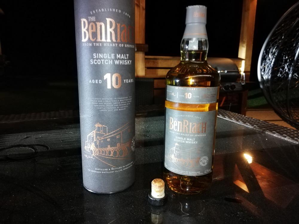 The BenRiach 10Y - Opinia i recenzja whisky